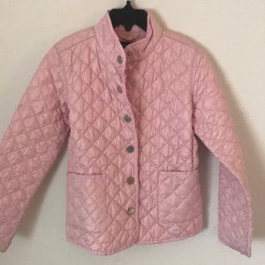 Ralph Lauren Girls light weight quilted jacket